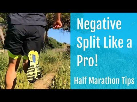 Half Marathon Tips | How to Negative Split Like a Pro