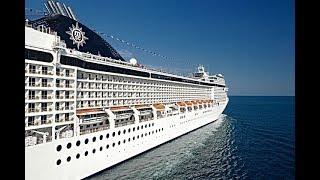 Cruise ship MSC Opera 4K