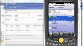 Performing a Put-Away in Dynamics NAV using Mobile WMS by Tasklet Factory