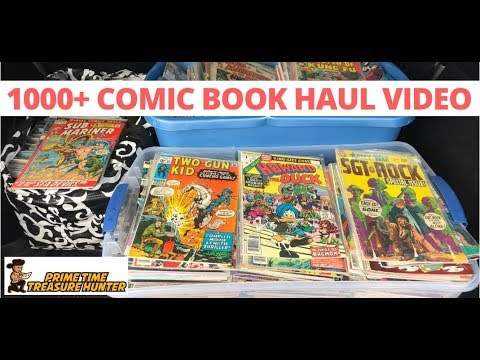 1000+ Comic Book Haul Video: Tips, BOLO Titles, Processing and More