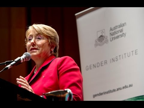 Michelle Bachelet presents Gender equality: a lived reality?