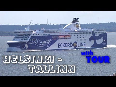 Outstanding Baltic sea Cruise: Helsinki, Finland to Tallinn, Estonia HD 1080 50p PART 4