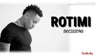 Cover images Rotimi - Decisions (Lyrics)