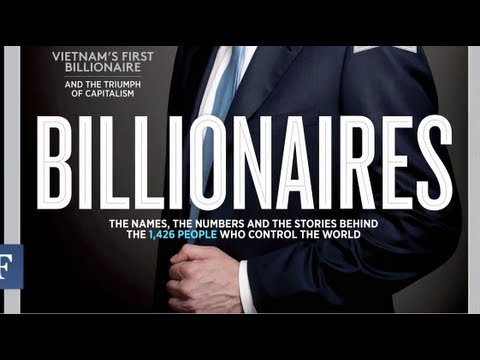 Inside Forbes: The World's Billionaires Issue