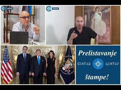 PRELISTAVANJE ŠTAMPE: Preokret! Vučić uz Ameriku; okrenuo leđa Rusiji!? (dr Petrović i Dejan Petar)