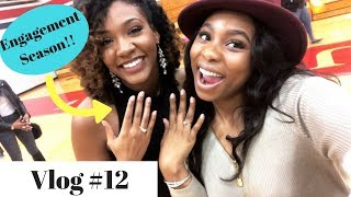 VLOG #12 Another PROPOSAL? + LOST MY VOICE & HARD DRIVE CRASHED