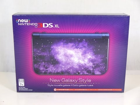 New Nintendo 3DS XL New Galaxy Style Unboxing