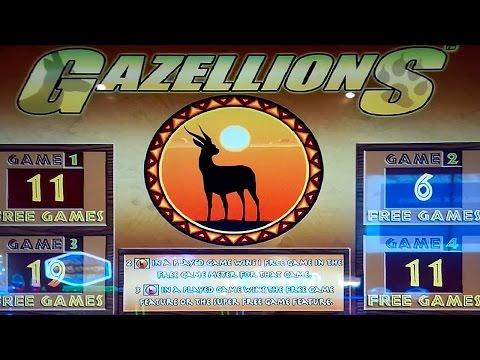 Gazellions Slot - LIVE PLAY Bonus! - 동영상