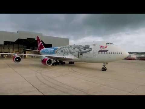 "Dana McKenzie - Virgin Atlantic Reveals Their ""Star Wars"" Inspired Plane"