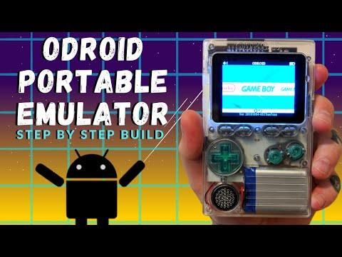 ODROID GO Portable Game Emulator - Build
