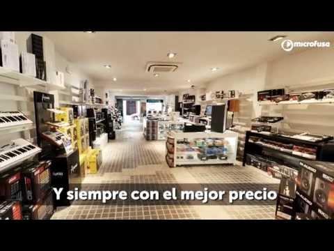Microfusa tienda Madrid - Todo en sonido, producción musical, DJ e instrumentos musicales