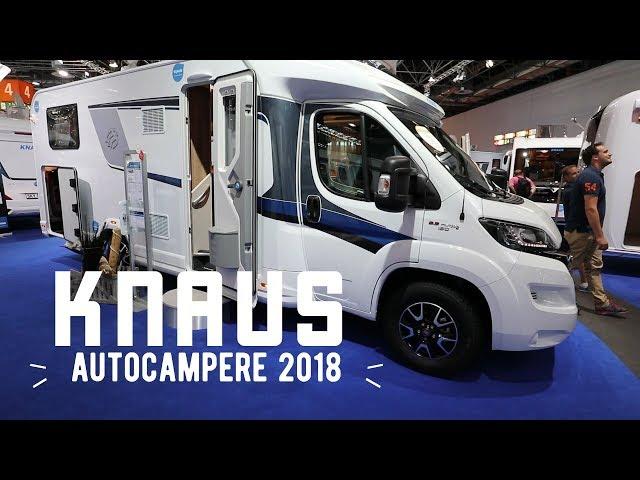 Knaus autocampere 2018