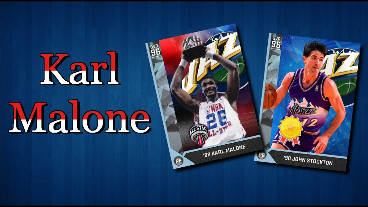 cheaper b138b da924 NBA 2K16 - ALL STAR MVP Karl Malone w/ Johnny Stockton