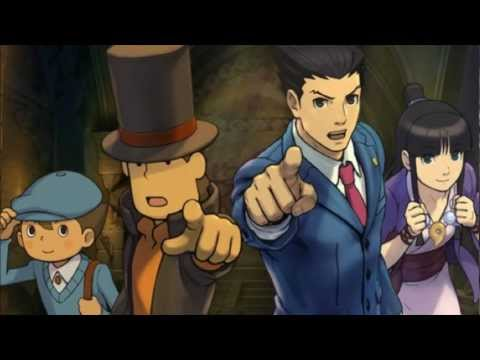 Professor Layton VS Ace Attorney OST - Layton's Theme [Extended]