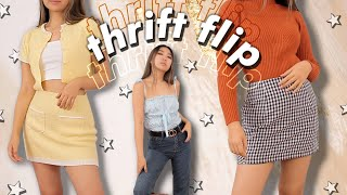 THRIFT FLIP | no sewing machine edition | JENerationDIY