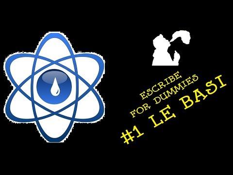Tutorial Escribe - #1 Le Basi (Software DNA)