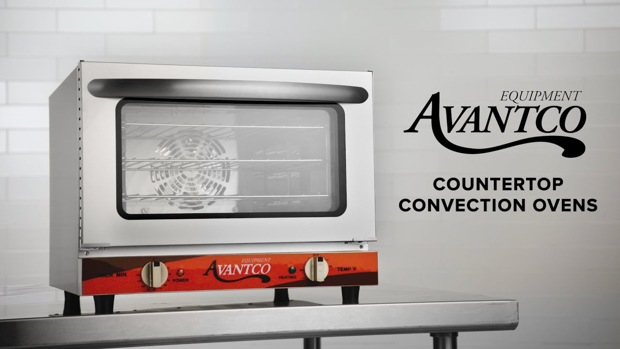 Avantco Countertop Convection Ovens Youtube