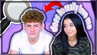 FINDING OUT IF MY BOYFRIEND REALLY LOVES ME *finding out the truth