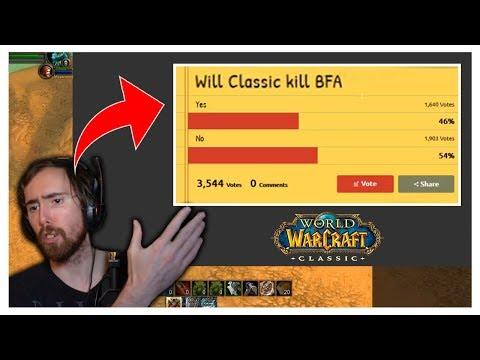 Will Classic Kill BfA? | Asmongold Reacts
