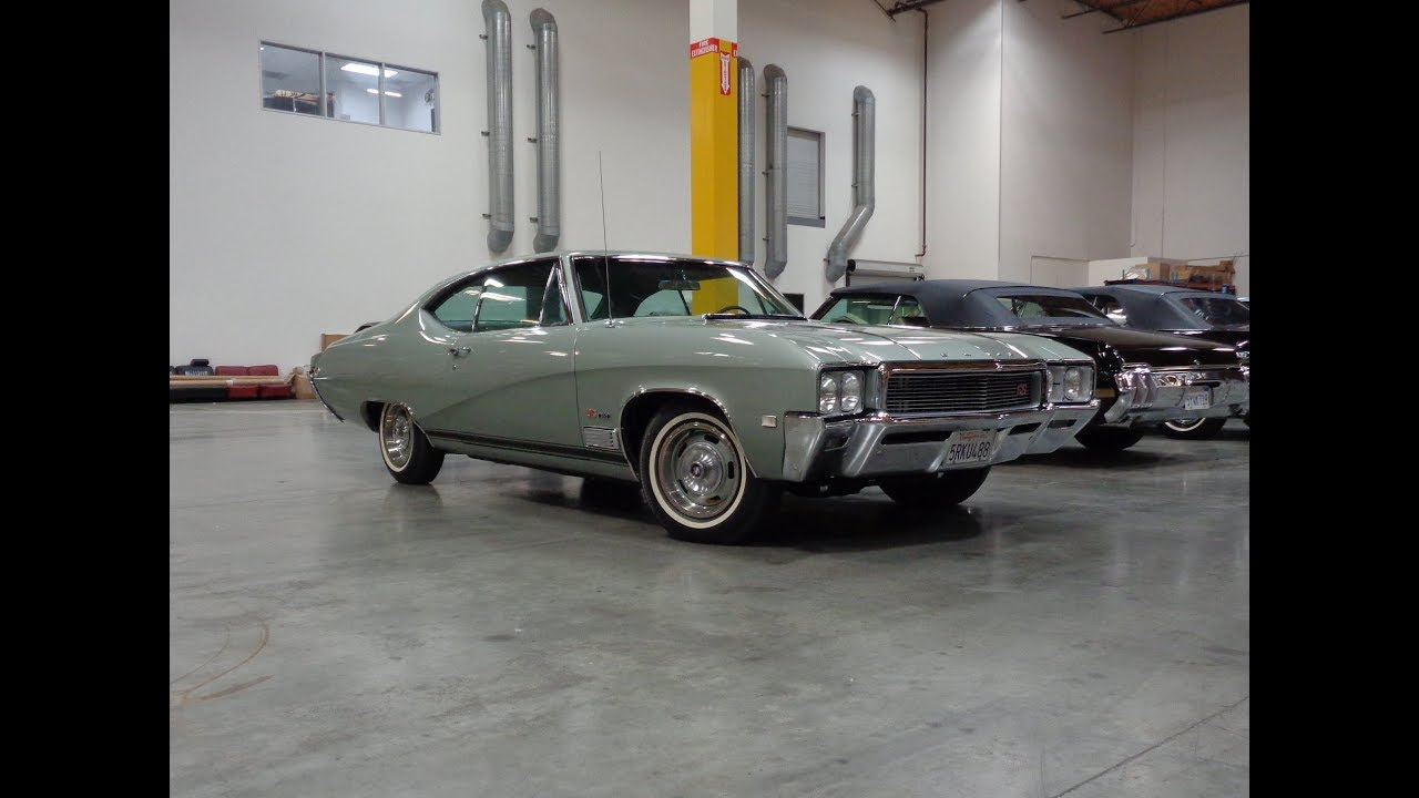 1968 Buick Gran Sport GS 350 in Tarpon Mist Green & Engine Sound on My Car  Story with Lou Costabile