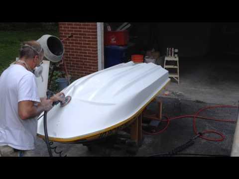 Jet Ski repair, Kawasaki 1100 ZXi 2000 & 1990, new gel coat