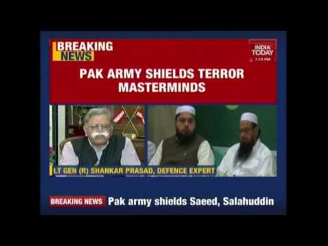 Pak Army Shifts LeT Chief & Hizbul Chief In Safe Custody After Surgical Strikes