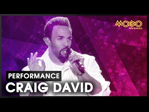 CRAIG DAVID | live at MOBO Awards | 2016 | MOBO