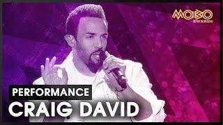 CRAIG DAVID | live at MOBO Awards | 2016