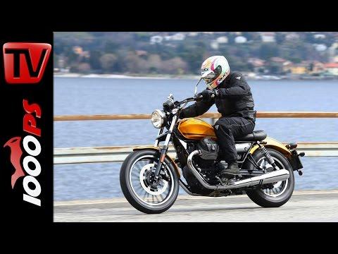 Moto Guzzi V9 Test 2016 | Roamer vs. Bobber |  Onboard