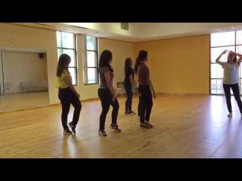 Ajaib Kau Tuhan dance practice