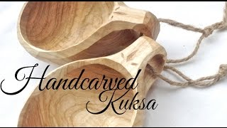 The Kuksa @ Lotsofwoods - Hand carved wooden cups - carved by Jeff Ballantyne