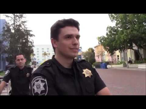 Nasty Guys In Police Uniform Outdoor