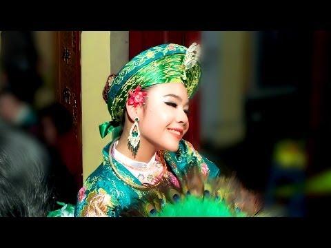 Hát Văn Hầu Đồng : Thanh Đồng : Lan Anh Hầu Giá Cô Đôi Thượng Tại Đền Dục Anh Hà Nội