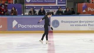 Elizaveta ( Liza ) Tuktamysheva / Елизавета Туктамышева / エリザベータ・トゥクタミシェワ CORF Practice - 2019.02.21