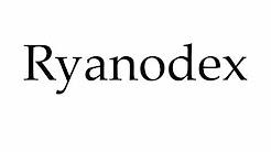 How to Pronounce Ryanodex