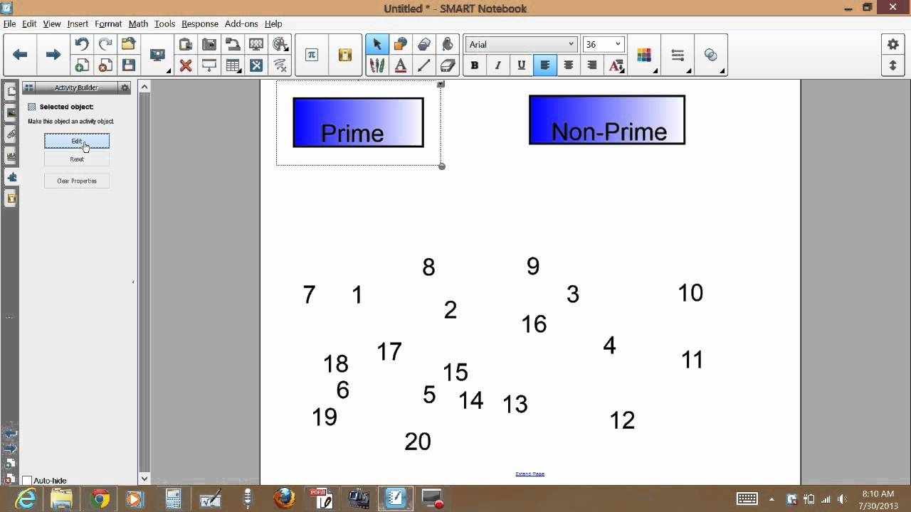 Smartboard Create Categorization Activities Using Activity Builder Venn Diagram For