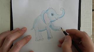 Как нарисовать слона за 12 минут?