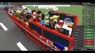 Roblox MTG Simulator on AEC RMC Open Top Tour CENTRAL BUS COMPANY Bus Deport - Herrington and back