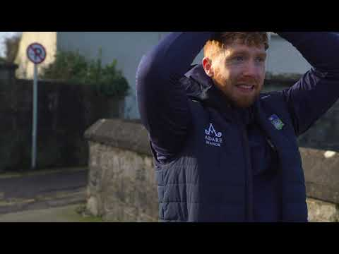 Hurler Cian Lynch supports Team Limerick Clean Up 6