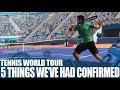Tennis World Tour PS4 Gameplay - 5 Things We've Had Confirmed