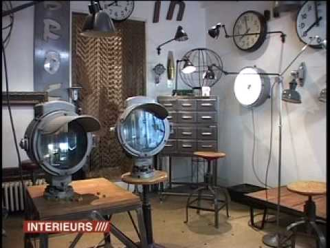 Ideas for an industrial furnitures home decoration youtube - Home interior decoration ideas ...