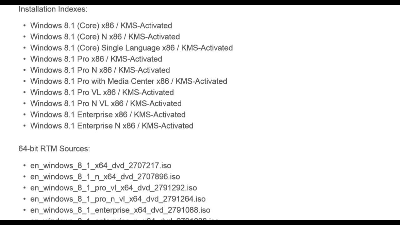 serial windows 8.1 64 bits
