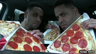 shopping fail   eating pizza   people staring   vlog 24 hodgetwins