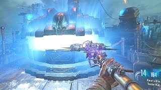 DOUBLE PAP ORIGINS STAFFS & WW2 WEAPONS (Mod) Call of Duty Black Ops 3 Zombies Gameplay