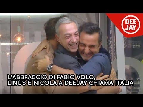 Fabio Volo, l'abbraccio prima della partenza: 'Viaggerò per tre mesi con la mia famiglia'