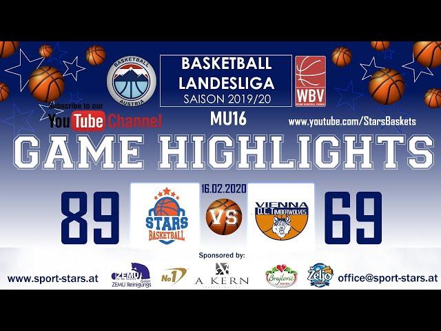 BC DSG Gumpendorf - STARS/1 - Vienna D.C. Timberwolves/2 So., 16.02.2020 89:69