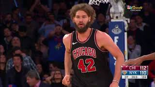 Bulls take care of business in double OT to defeat the Knicks, 122-119. 01.10.18