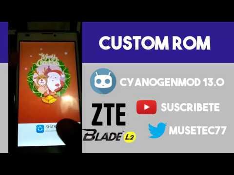 ZTE Blade L2 | CM13 | Custom Rom | Review de Cyanogenmod en el Zte Blade l2 o Telepatria 2
