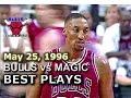 May 25 1996 Bulls vs Magic game 3 highlights