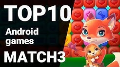 Top 10 Match-3 Games for Android 2019 [1080p/60fps]